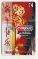 ANTILLES EKO CARD 5000 Ex PREPAYE - Antillen (Frans)