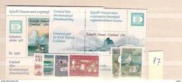 1987 MNH Greenland Year Complete, Postfris - Greenland