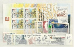 2000 MNH Greenland, Year Complete According To Michel, Postfris - Greenland