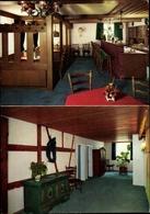 Cp Nördlingen Im Nördlinger Ries Schwaben, Hotel Alte Post, Innenansichten, Theke, Stühle, Kommode - Germany