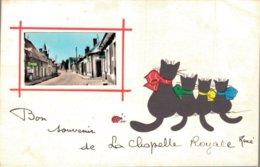 28 Bon Souvenir De LA CHAPELLE ROYALE - France