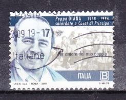 2019  PEPPE DIANA VITTIME MAFIA USATO - 1946-.. République