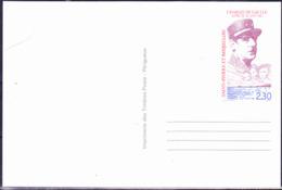 SSt. Pierre Und Miquelon - Ganzsache De Gaulle (MiNr: CP ... ) 1990 - Ungebraucht - Ganzsachen