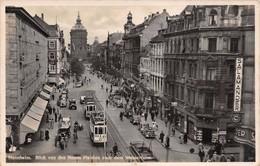 Cartolina Manheim Blick Von Den Neuen Planken Insegna Salamander - Cartoline