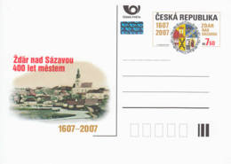 TCHEQUIE - 2007 - Entier Postal Neuf - Žďár Nad Sázavou - Ganzsachen
