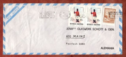 Luftpost, Tag Der Armee U.a., MS Buenos Aires, Nach Mainz 1972 (79505) - Argentina