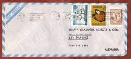 Luftpost, Briefaustragetasche U.a., MS Buenos Aires, Nach Mainz 1973 (79506) - Argentina