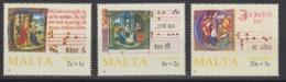 Malta 1987 Christmas 3v ** Mnh (44751) - Malta
