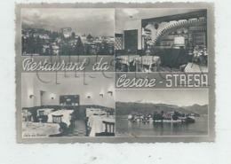Stresa (Italie, Piemonte) : 4 Vues De L'Hôtel De Cesare En 1950 GF. - Italia