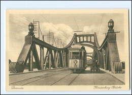 XX004521-061/ Diemitz B. Halle A.S.  Hindenburg-Brücke Straßenbahn AK Ca.1912 - Duitsland