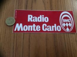 AUTOCOLLANT, Sticker « RMC - Radio Monte Carlo» - Autocollants