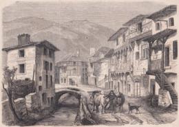63. CHATELDON. La Grande Rue. 1866 - Vieux Papiers