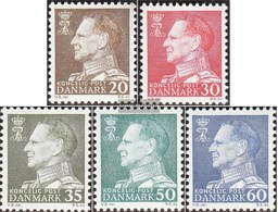 Denmark 390y-392y,394y-395y (complete Issue) Unmounted Mint / Never Hinged 1962 King Frederik IX - Dänemark