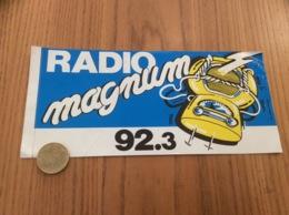 AUTOCOLLANT, Sticker « RADIO Magnum 92.3» - Autocollants