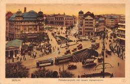 Cartolina Berlin Potsdamenrplatz Verkehrturm - Cartoline