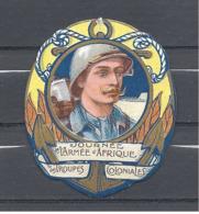 1914 - 1918 : Insigne Cartonné Sur La Journée De L'Armée D'Afrique Et Des Troupes Coloniales - 1914-18