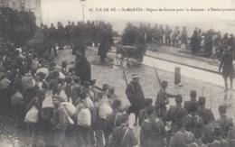 SAINT-MARTIN (Ile De Ré): Départ De Forçats Pour La Guyane - L'Embarquement - Prigione E Prigionieri