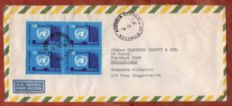 Luftpost, UNO, Sao Paulo Nach Mainz 1976 (79512) - Cartas