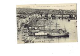 Cpa - 13 - Marseille - Vue Générale Vieux Port - V.R. 29 - Bateau Publicité PICON Old Manada Rum Rhum - Joliette, Zone Portuaire