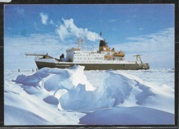 AANT-276 POLAR 1994 SOUTH AFRIKA POLAR STERN CRUCER ATLANTIK-INDIK CARD - Polar Flights