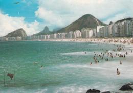 Brasile - Rio  De Janeiro - Praia De Copacabana - Copacabana