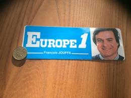 AUTOCOLLANT, Sticker «EUROPE 1 - François JOUFFA » (radio) - Autocollants