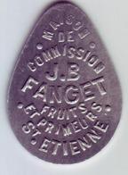 Monnaie De Nécessité - LOIRE 42 - St Etienne - Maison De Commission J.B Fanget - 10F - Monétaires / De Nécessité