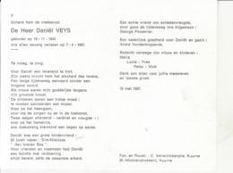 Daniël Veys (1942-1987) - Images Religieuses