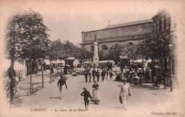 CPA - LORIENT - LE COURS DE LA BÔVE - Edition ND.Photo - Lorient