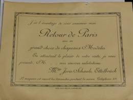 Carte Postale Pub, Mme Joris-Schauls, Ettelbruck - Sonstige