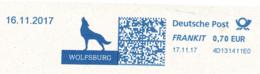 Freistempel 8308 Wolf Wolfsburg - Machine Stamps (ATM)