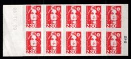 Carnet YT 2629-C1 Marianne Briat Lettre 2,30F Neuf ** - Freimarke