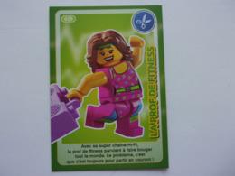 Carte LEGO AUCHAN CREE TON MONDE N°29 Prof De Fitness Danse - Autres Collections