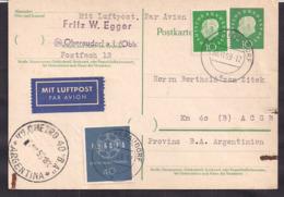 Deustche Bundespost - 1959 - Brief - Argentinien - BRD