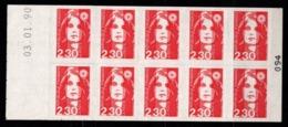 Carnet YT 2630-C1 Marianne Briat Lettre 2,30F Neuf ** - Markenheftchen