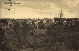 Cp Dülmen Im Münsterland, Panorama, Kirchturm - Allemagne