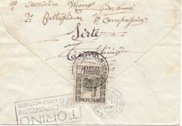 1928 Da SIRT Tripolitania Per ROMA- Vinc - 1900-44 Vittorio Emanuele III