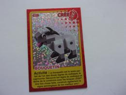 Carte LEGO AUCHAN CREE TON MONDE N°21 Bouquetin - Autres Collections