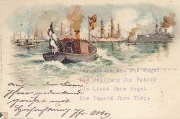 Illustrateur Allemand : W Stowel : Marine   :   Pionnière De 1898   ///  REF  SEPT.  19  /// N° 9435 - Ilustradores & Fotógrafos