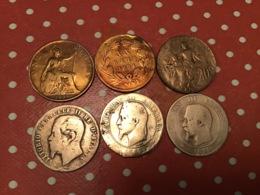Lot De 6 Pièces Voir Le SCAN - Mezclas - Monedas