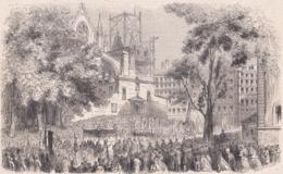13. MARSEILLE. Installation Solennelle De Mgr Place, Nouvel évêque. 1866 - Vieux Papiers