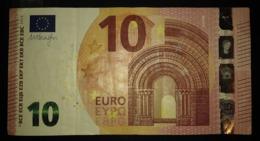 10 Euro N008C5 Austria Serie NB Draghi Circulated - EURO