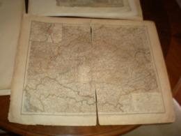 Ungarn Und Galizien Volks Und Familien Atlas A Shobel Leipzig 1901 Big Map - Geographical Maps