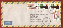 Luftpost, Franz Von Assisi U.a., Sao Paulo Nach Mainz 1977 (79519) - Brasile