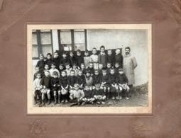 Grande Photo Originale Scolaire - Photo De Classe - Les Ecoliers De Mâcon 71000 Saône-et-Loire Vers 1910/20 - J. Combier - Anonymous Persons