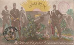 Rare Cpa Le Canon De 75 - 1914-18