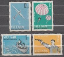 Vietnam 1964 Mi# 330-333 Sport National Defense Games MNH * * - Vietnam