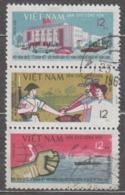 Vietnam 1964 Mi# 339-341 World Solidarity  Used - Vietnam