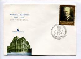 RAMON J. CARCANO 1860-1946. ARGENTINA 1997 ENVELOPE FDC PRIMER DIA -LILHU - Celebridades