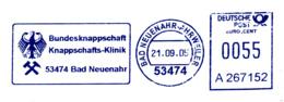 Freistempel 8016 Bundesknappschaft Adler - Affrancature Meccaniche Rosse (EMA)